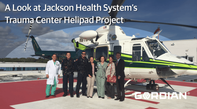Healthcare System Builds Helipad Using JOC