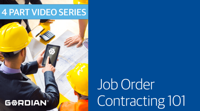 What is Job Order Contracting?