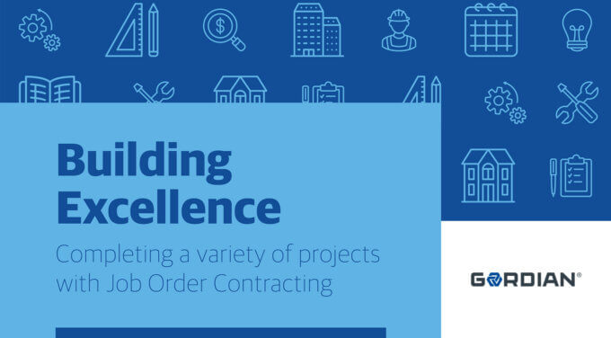 Building Excellence – Completing a Variety of Projects with Job Order Contracting