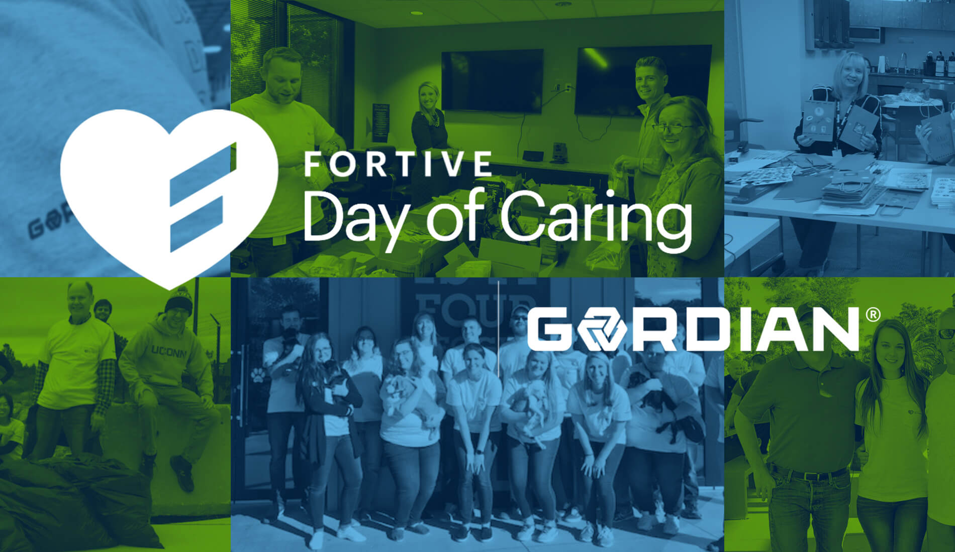 Gordian Gives During Fortive Day of Caring