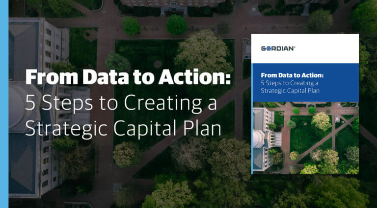 From Data to Action: 5 Steps to Creating a Sustainable Capital Plan