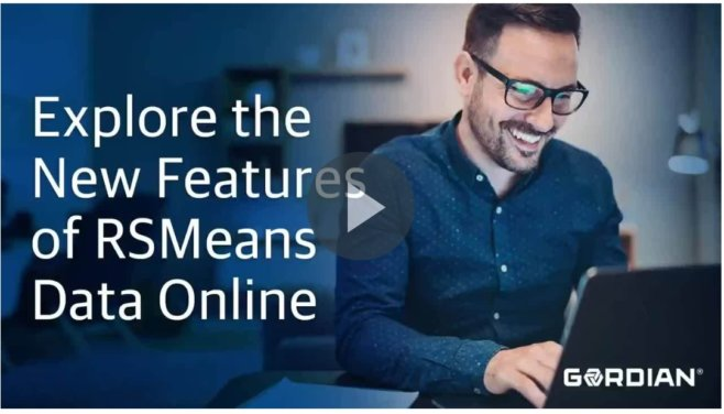 RSMeans Data Online: Create Better Estimates Faster with New Tools