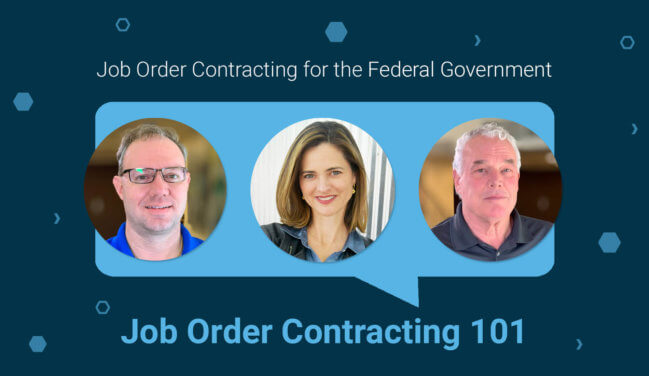 Job Order Contracting for the Federal Government Virtual Training: JOC 101