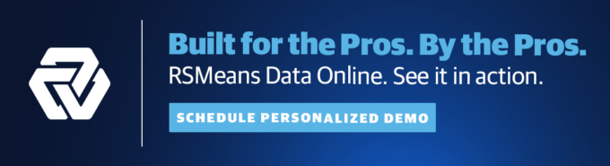 RSMeans Data Online Personalized Demo