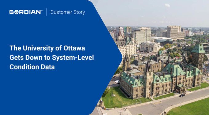 The University of Ottawa Gets Down to System-Level Condition Data