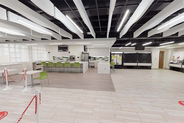 Data-driven procurement helped Grady Memorial Hospital complete this welcoming space.